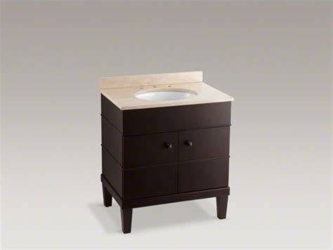 Kohler Vanities For Bathrooms Kohler Evandale R 3 Vanity Contemporary Bathroom Vanities And Sink Consoles By Kohler