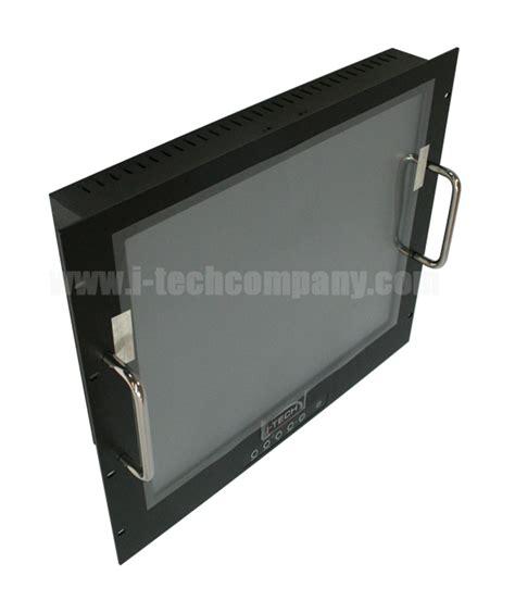 rack mount vga monitor 9u rack mount 19 quot lcd monitor 1280x1024 led 250 nits vga input model erm1900