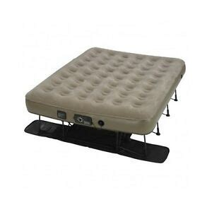 portable air mattress w never flat instabed ez bed cing guest ebay