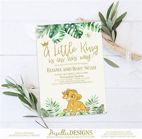 Simba Baby Shower Favors by Best 25 Simba Baby Shower Ideas On King Baby