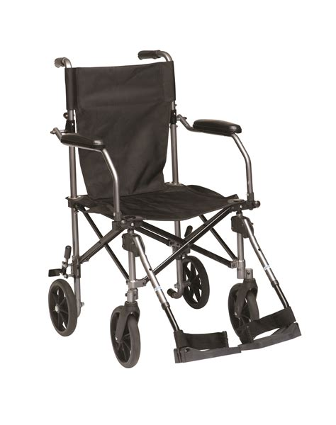 drive travelite transport wheelchair chair in a