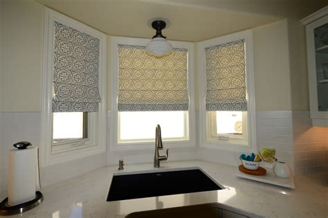 custom roman shades   dressed window hunter