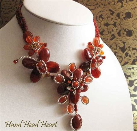 fashion and costume gemstones jewelry necklace handmade