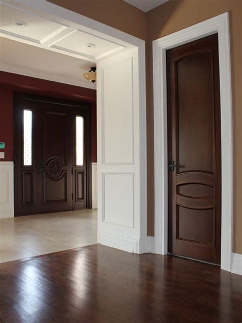25 best ideas about brown interior doors on brown hallway paint interior