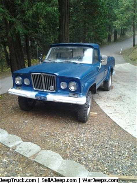 jeep gladiator 1970 1970 jeep gladiator j 3000 stock 8 cyl runs and