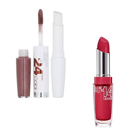 Maybelline Superstay Lipstick maybelline stay 24 hour color and stay 14 hour