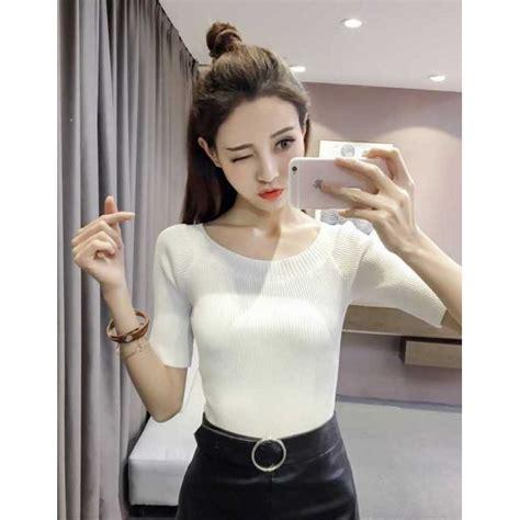 Blouse Rajut Import 33231 blouse rajut import t3762 moro fashion