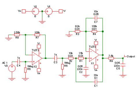 eeg lifier circuit diagram 28 images 17 best ideas