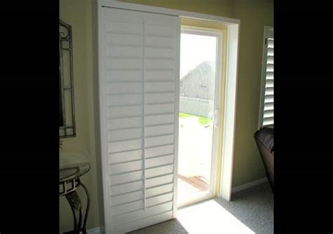 Shutters For Sliding Glass Doors Sliding Glass Door Plantation Shutters The Hull Boating And Fishing Forum