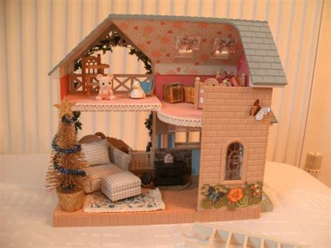 sylvanian families bluebell cottage sylvanian families decorated bluebell cottage ebay