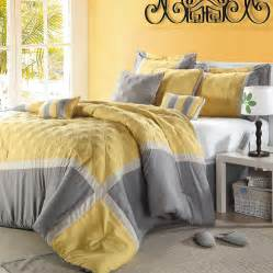shop eight piece quincy queen comforter set in gray and