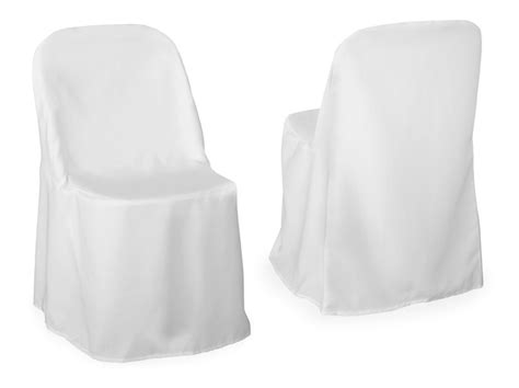 White Covers by White Covers For Metal Frame Folding Chairs All Borough