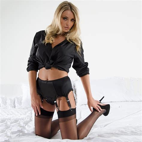 Hq 14819 Set Top Skirt Size M cleopatra rhodos 6 suspender belt in black or white sizes small to xl ebay