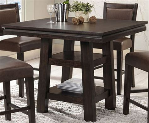 Black Counter Height Dining Table Montego Bay Black Oak Counter Height Dining Table 2280 50 Pt Pb Eci Furniture