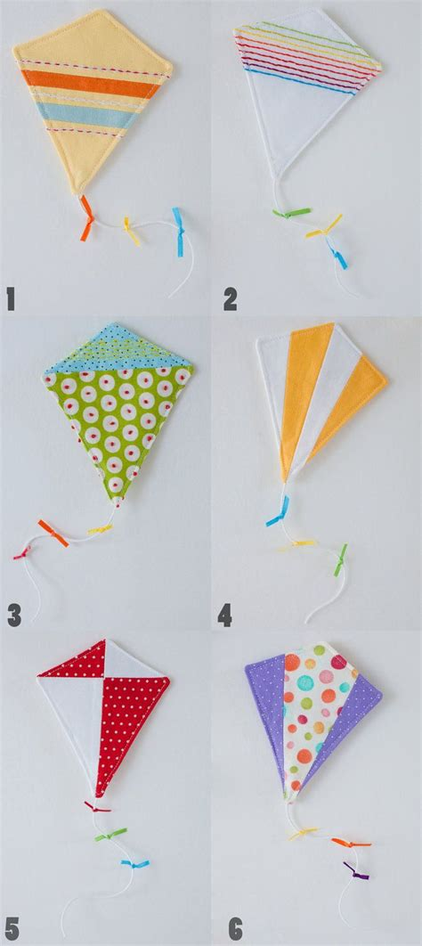 felt kite pattern kite mobile felt projects pinterest kites babies
