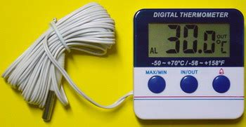 Alat Alarm Thermometer Luar Dalam Amt 105 in outdoor alarm thermometer amt 105