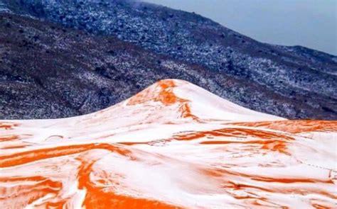 snow in sahara desert stunning rare snow in sahara desert meem