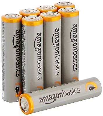 Batterie Amazonbasics by Amazonbasics Aaa Performance Alkaline Batteries 8 Pack Fast S H