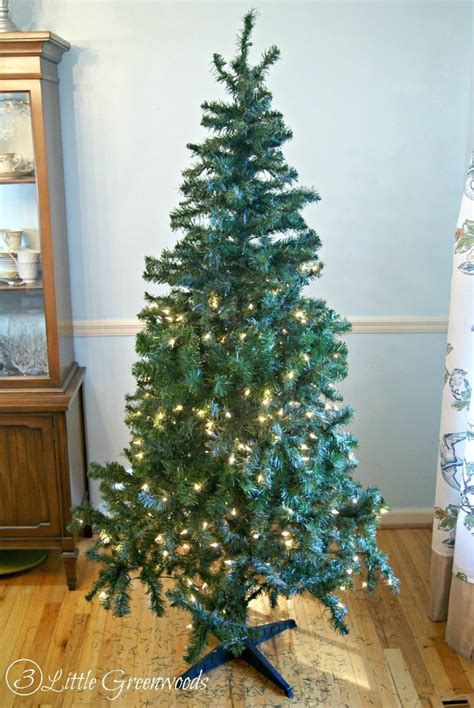 update a fake christmas tree for less than 10 by