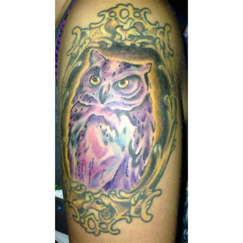 owl watercolor tattoo watercolor owl