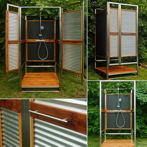 diy outdoor bathroom outdoor shower diy popsugar home
