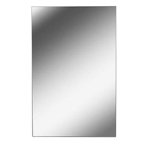 homebase bathroom mirror rectangle polished edge mirror