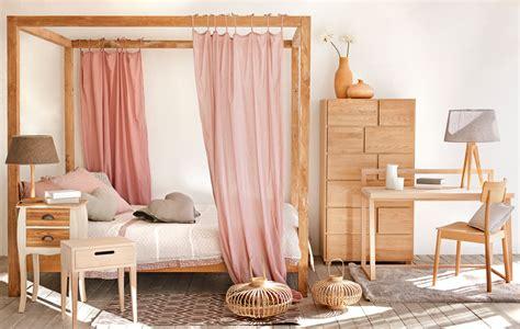 cama dosel madera camas