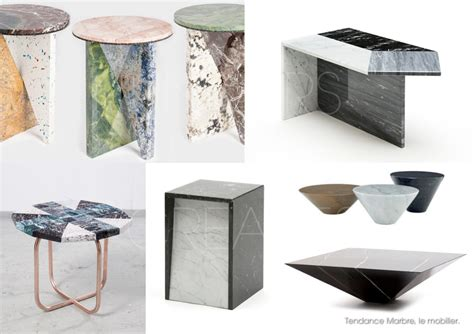 les tables basses univers creatifs tendance marbre 2 mobilier les