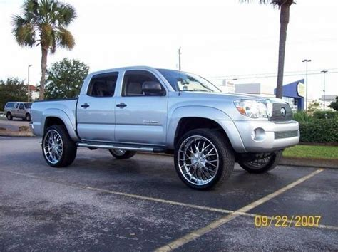 Toyota Tacoma 20 Inch Rims Toyota Tacoma 20 Inch Rims Car Interior Design
