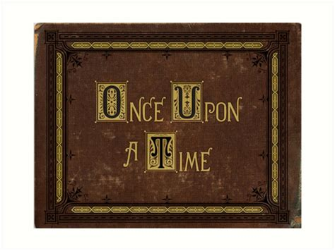 once upon a books quot once upon a time book quot prints by butterfliest redbubble