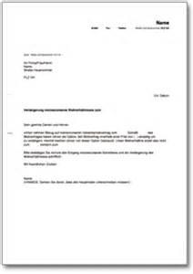 Wohnungsbewerbung Brief Verl 228 Ngerung Gewerbemietvertrag Durch Den Mieter De Musterbrief
