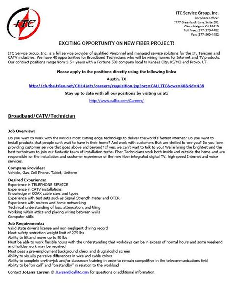 cable installer sle resume inspirational laboratory technician resume by