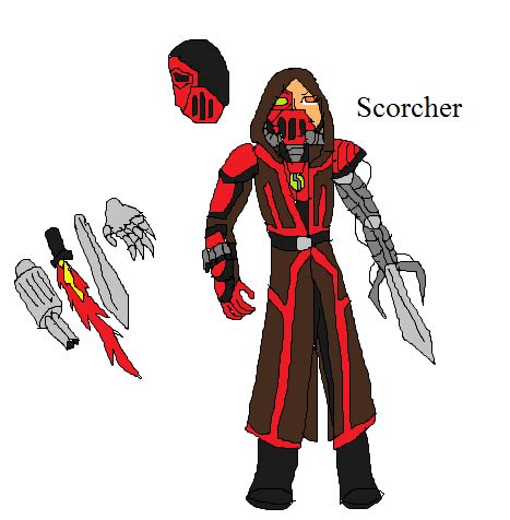 dc/marvel inspired villain oc scorcher by mrc mrgnstrn on