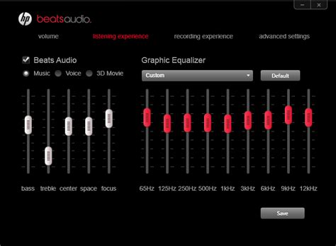 beats audio eq settings apk optimal beats audio settings for hp envy 15 hp support forum 1612125