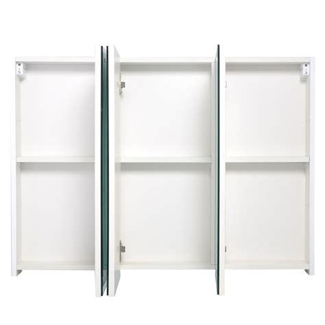 wide mirrored bathroom cabinet 3 mirror door 36 quot 20 quot wide wall mount mirrored bathroom