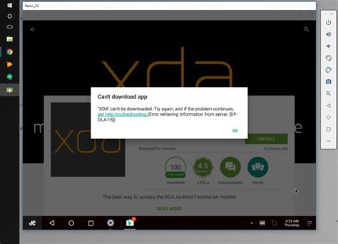 win player android jide launch remix os player light weight android emulator for windows