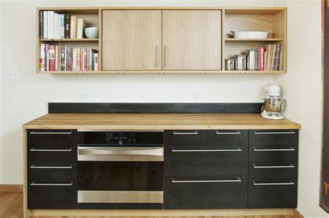 Toaster Oven Baking Reclaimed Work Of Art Contemporary Kitchen Denver