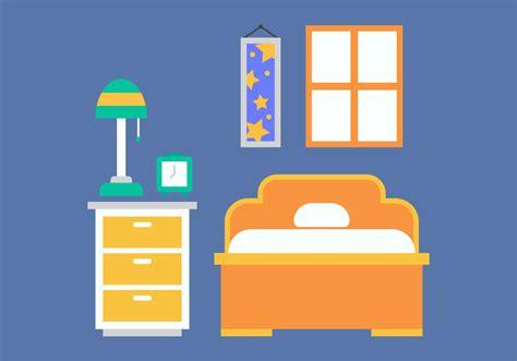 bedroom clip art free kids room vector icons 19 download free vector art