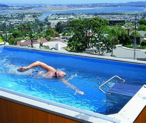 lap pools advantages of a portable lap pool backyard design ideas