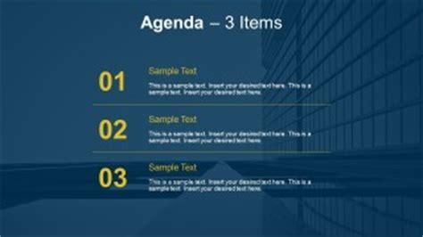 simple agenda   powerpoint