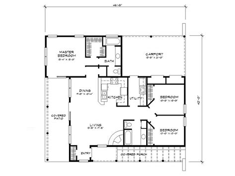 adobe floor plans adobe house plans small southwestern adobe home plan