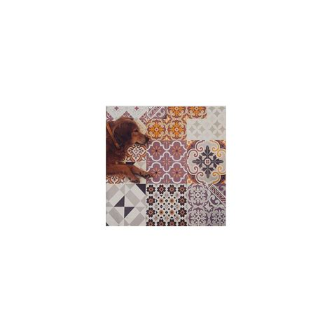 tapis en solde 357 beija flor tapis vinyle en carreaux de ciment eclectic e3