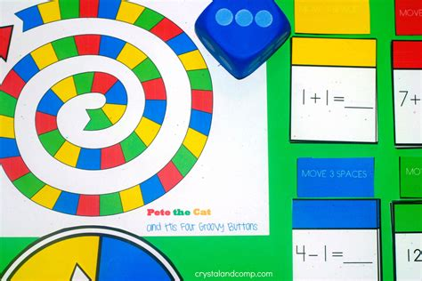 printable board games for math printable math game for kids