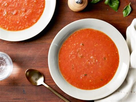 ina garten roasted tomatoes roasted tomato basil soup recipe ina garten food network