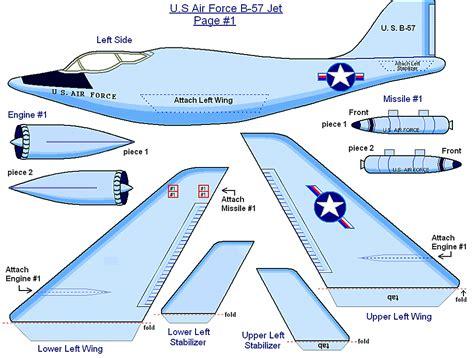 printable paper model airplanes free printable air force jet historic replica airplane 3