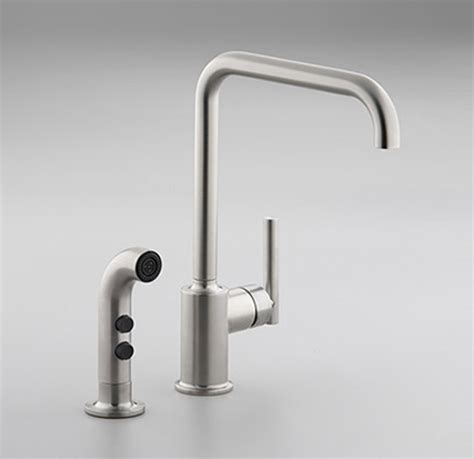 kohler purist kitchen faucet kohler kitchen faucet new contemporary purist