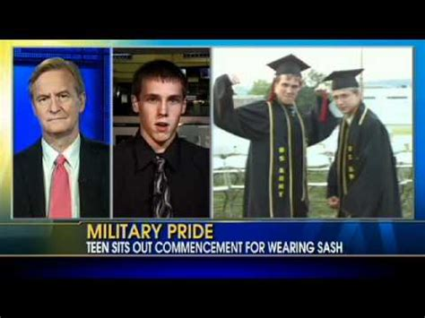 two students yanked out of line at graduation for wearing