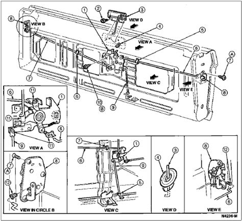 wiring diagram for 1983 bronco tailgate bronco exhaust