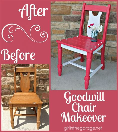 goodwill furniture makeovers goodwill chair makeover chair makeover craft and upcycle
