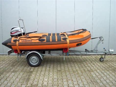 rubberboot met motor 25 pk lodestar 350 rubberboot mariner 25 pk 4 takt boottrailer